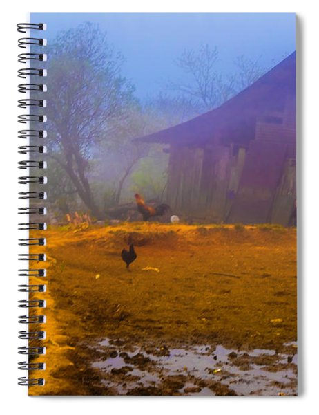Scene On A Hill - Sapa, Vietnam  Spiral Notebook