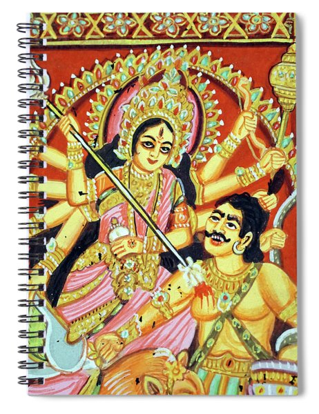 Scenes From The Ramayana Spiral Notebook