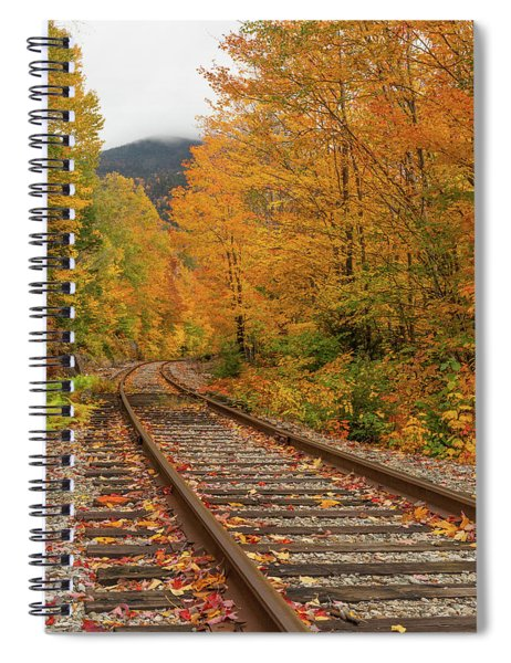 Scenic Crawford Notch Railway Spiral Notebook