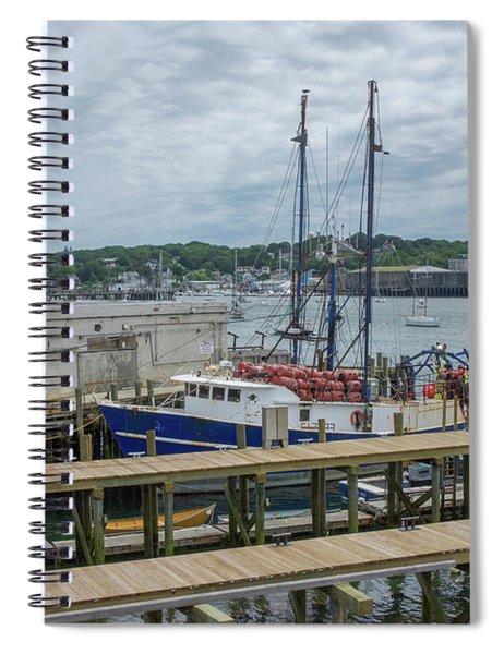 Scenic Harbor Spiral Notebook