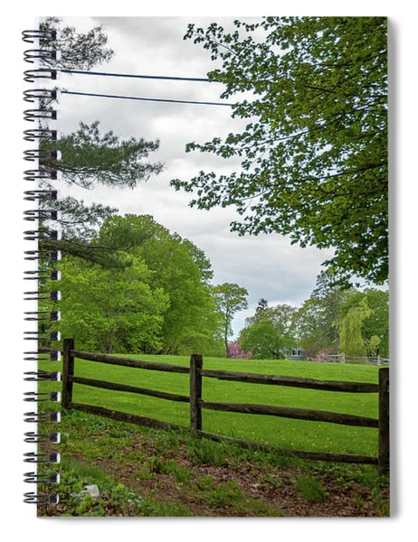 Scenic Meadow Spiral Notebook