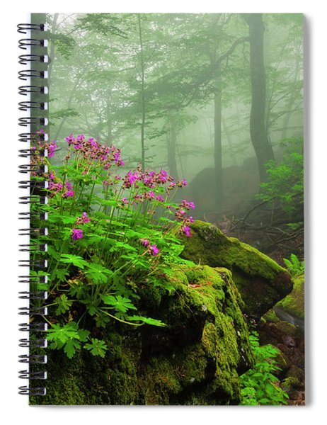 Scent Of Spring Spiral Notebook