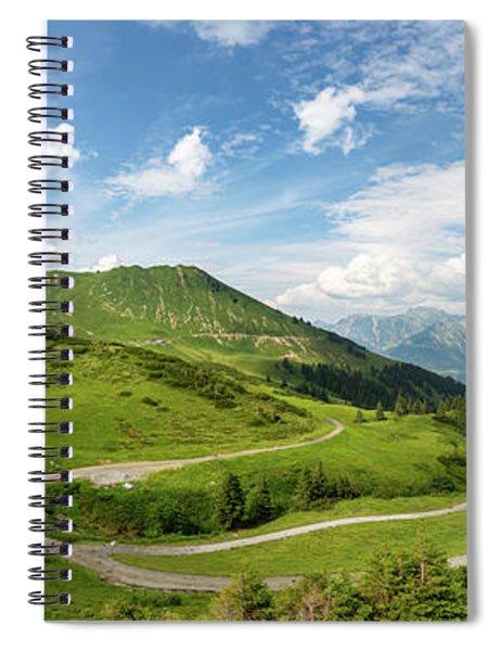 Schlappoldsee, Allgaeu Alps Spiral Notebook