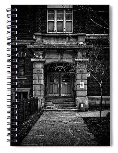 School Daze No 5 Spiral Notebook