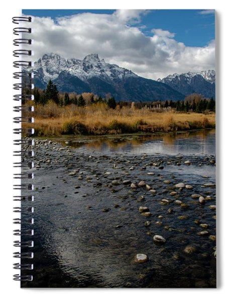 Spiral Notebook featuring the photograph Schwabacher Landing by Scott Read
