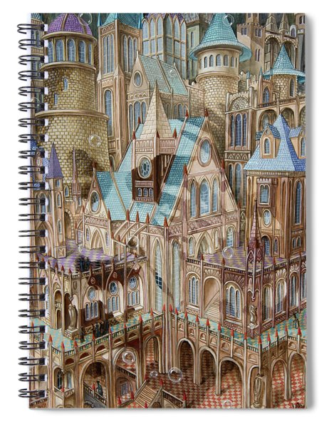 Science City Spiral Notebook