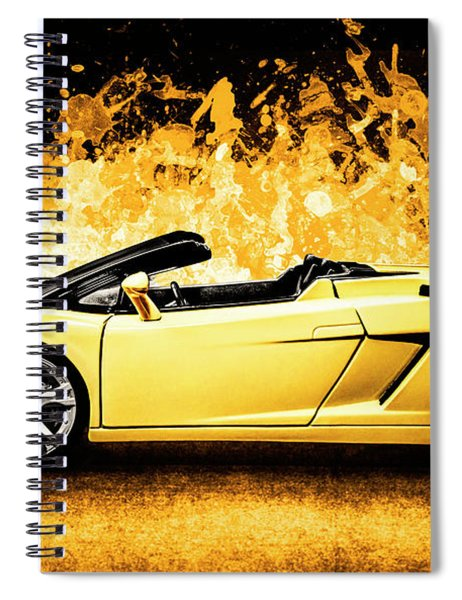 Scorcher Spiral Notebook