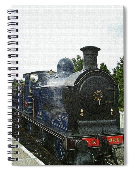 Scotland. Aviemore. Strathspey Railway. Spiral Notebook