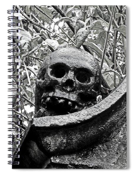 Scotland. Edinburgh. On Calton Hill Spiral Notebook
