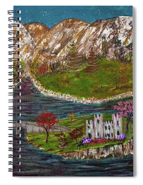 Scotland Spiral Notebook