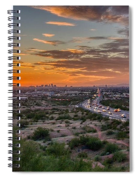Scottsdale Sunset Spiral Notebook