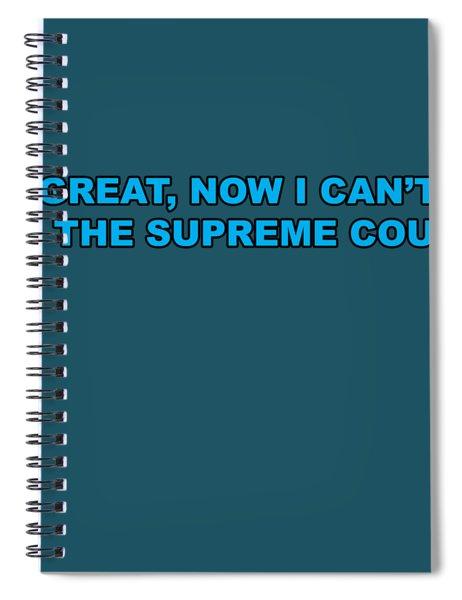 Scotus Spiral Notebook