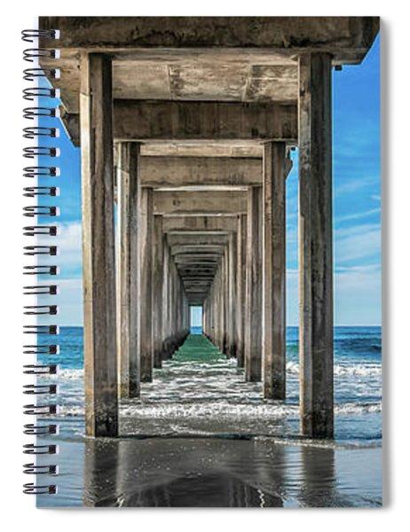 Scripps Pier La Jolla California Spiral Notebook