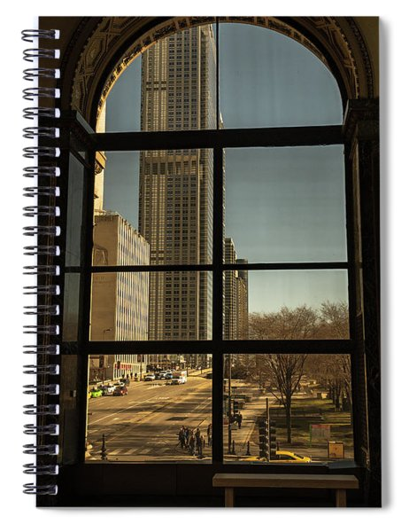 Sculpted View Spiral Notebook