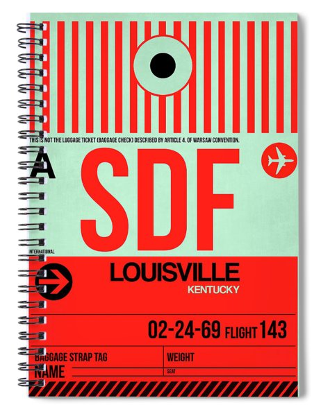 Sdf Louisville Luggage Tag I Spiral Notebook