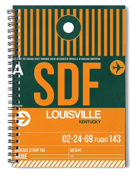 Sdf Louisville Luggage Tag II Spiral Notebook