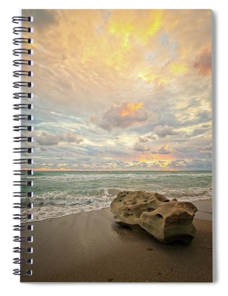 Sea And Sky Spiral Notebook