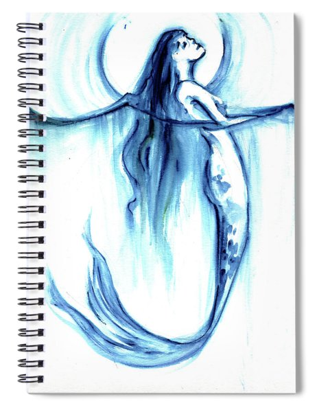 Sea Breath Spiral Notebook