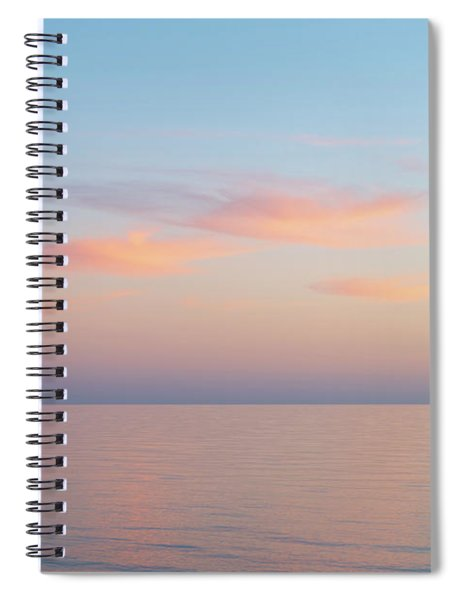 Spiral Notebook featuring the photograph Sea by Mirko Chessari