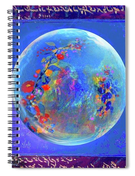 Sea Of Hanami Spiral Notebook