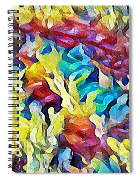 Sea Salad Spiral Notebook