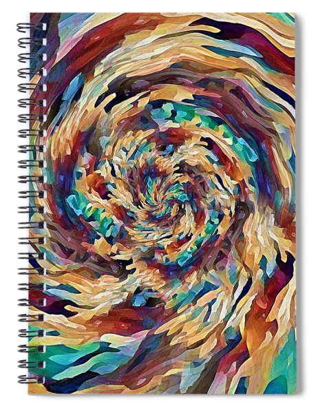 Sea Salad Swirl Spiral Notebook