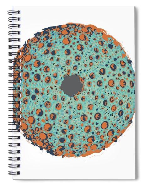 Sea Urchin Illustration Spiral Notebook