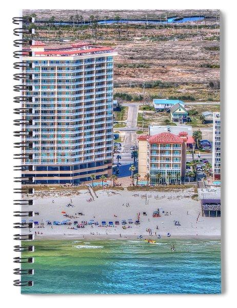 Sea Winds  Sea N Suds Spiral Notebook