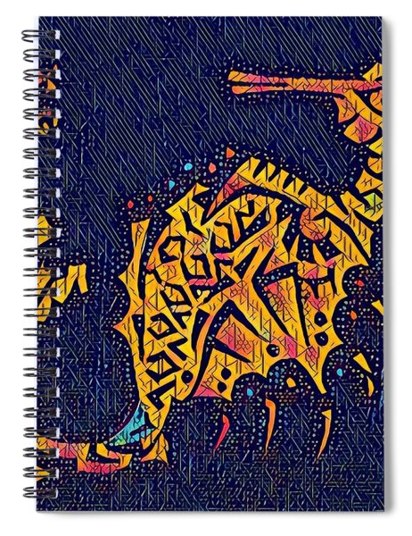 Seahorse Jewel 311018 Disco Spiral Notebook