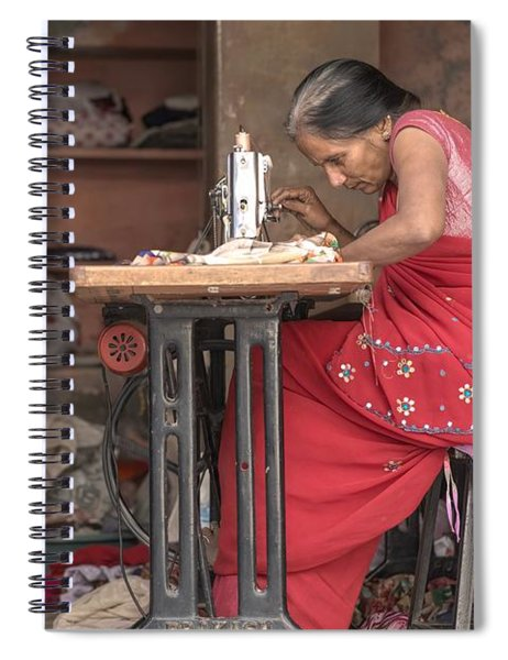 Seamstress Spiral Notebook