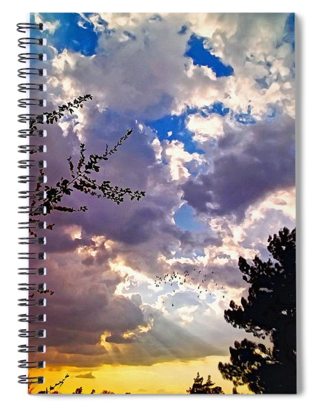 Searchlight Spiral Notebook