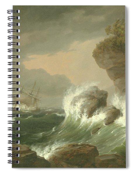 Seascape, 1835 Spiral Notebook