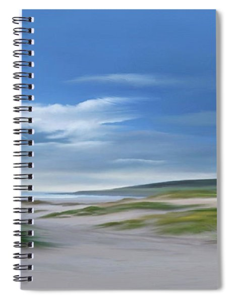 Seaside Stroll Spiral Notebook