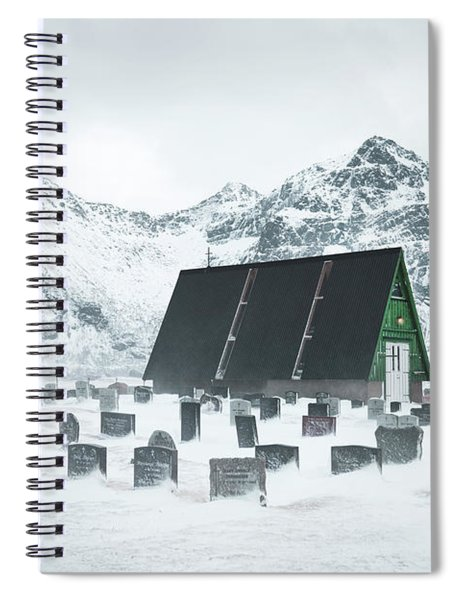 Season Of Silent Sorrow Spiral Notebook