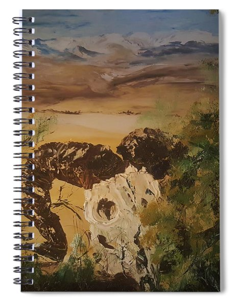 Seasons End       37 Spiral Notebook