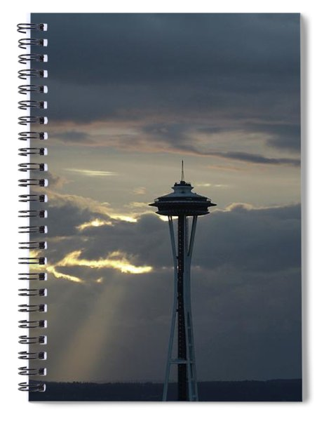 Seattle Light Spiral Notebook
