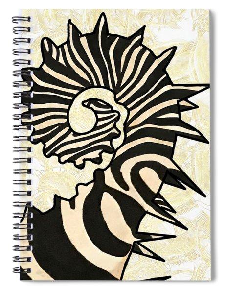 Seazebra Tail Spiral Notebook