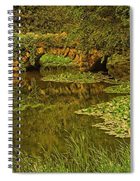Seclusion At The Lake Spiral Notebook