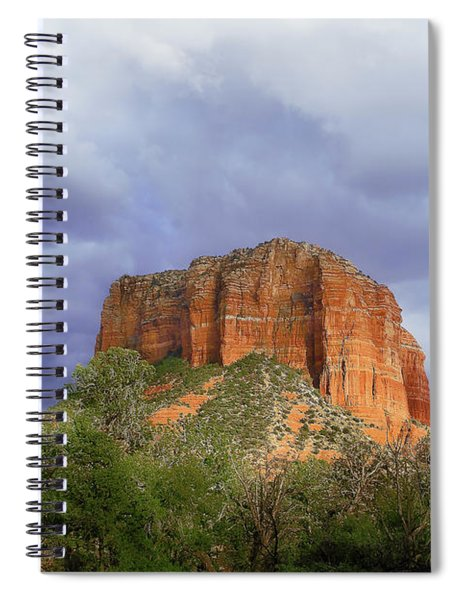 Devil's Mountain Spiral Notebook