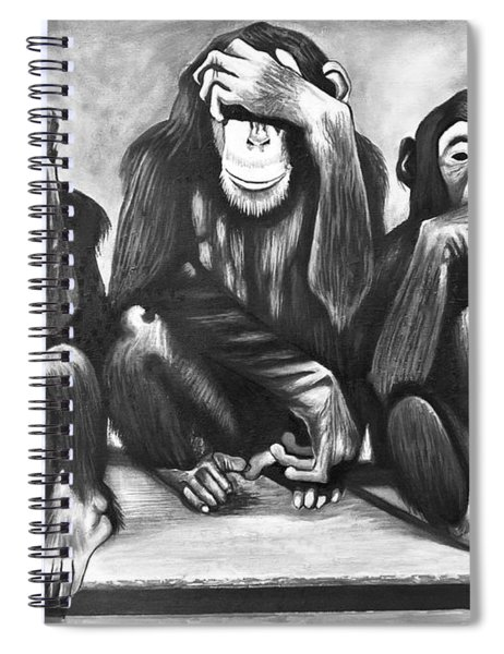 See No Evil, Hear No Evil Spiral Notebook