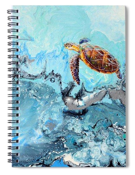 See Turtle Spiral Notebook