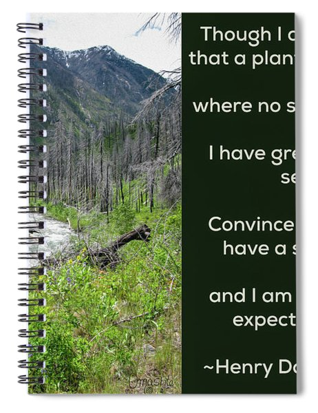 Seeds Of Success - Nature Art By Omaste Witkowski Spiral Notebook