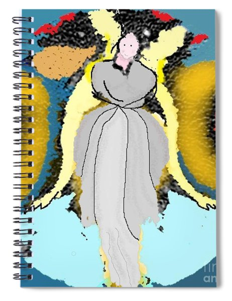 Seeing Angels Spiral Notebook