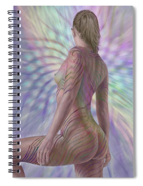 Seeing Phyllotaxis Spiral Notebook