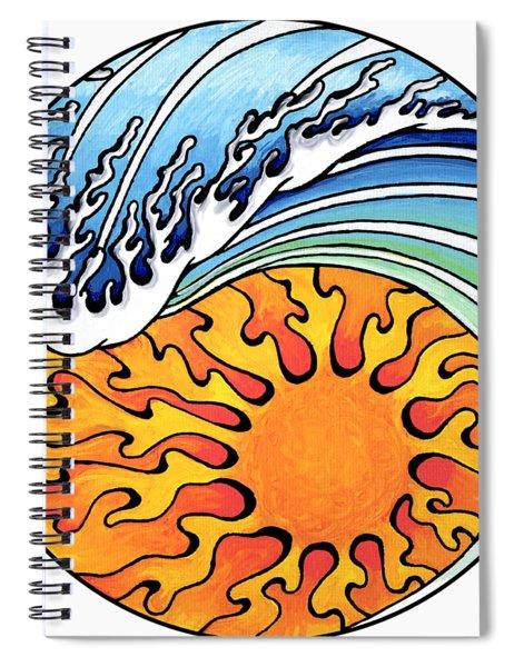 Seeking Balance Spiral Notebook