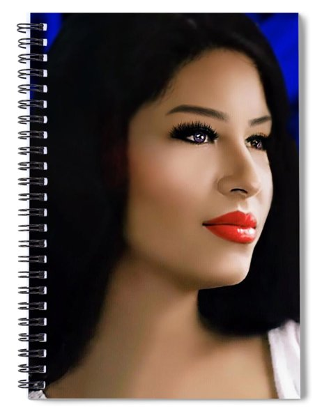 Selena Forever In Our Hearts Spiral Notebook