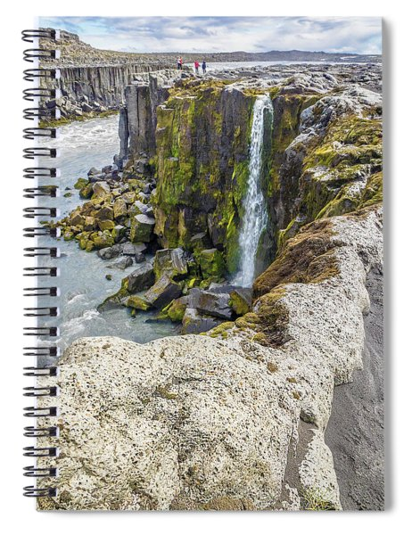 Selfoss Waterfall - Iceland Spiral Notebook