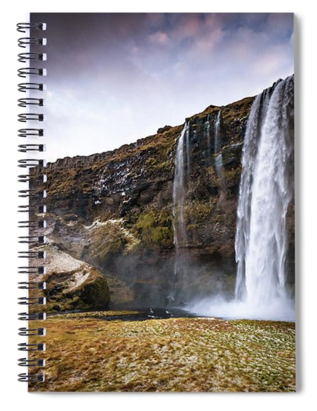 Seljalandsfoss Spiral Notebook