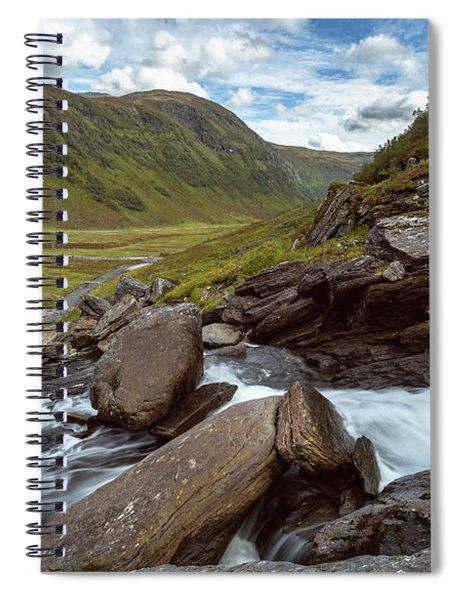 Sendefossen, Norway Spiral Notebook