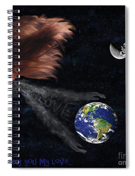 Sending You My Love Spiral Notebook